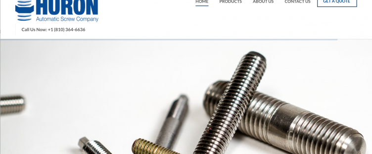 Huron Automatic Screw Company Offers Optimal Client Experience with User-Friendly Website