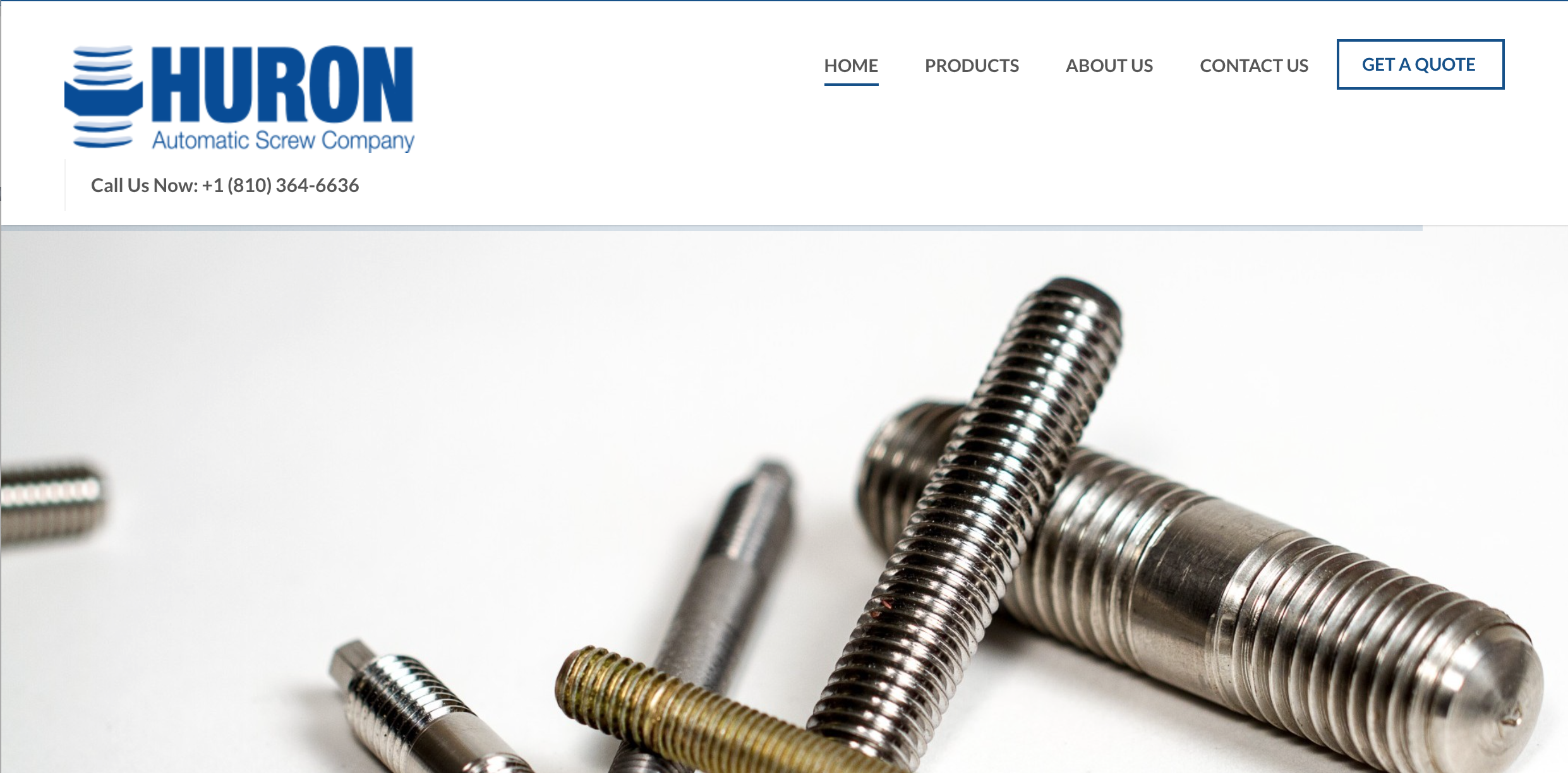 Enjoy Customer Convenience with Huron Automatic Screw Company's Website